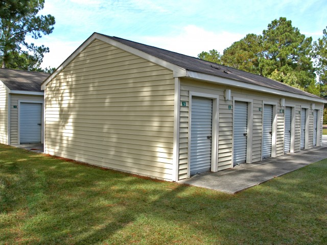 Spacious Resident Storage Room | Jacksonville NC Apartments For Rent | Brynn Marr Village
