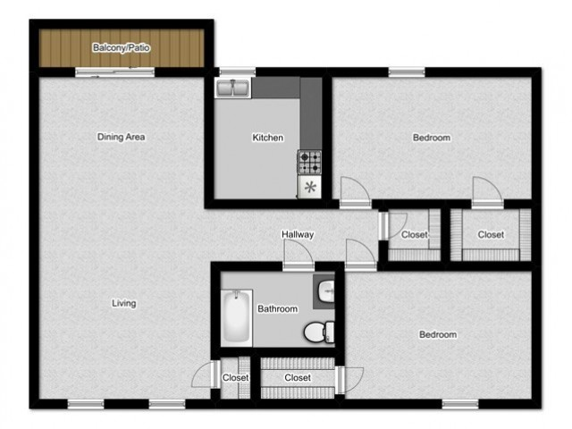 Floor Plan | Park Square