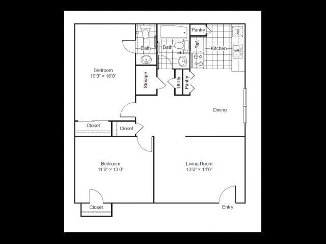 Park West|Floor Plan