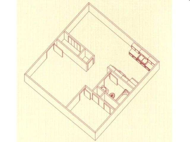 1 Bedroom Floor Plan   Rentals In Spartanburg SC   Quail Pointe