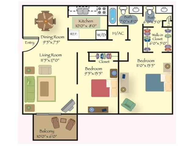 Floorplan 2 | Reserve at Cavalier