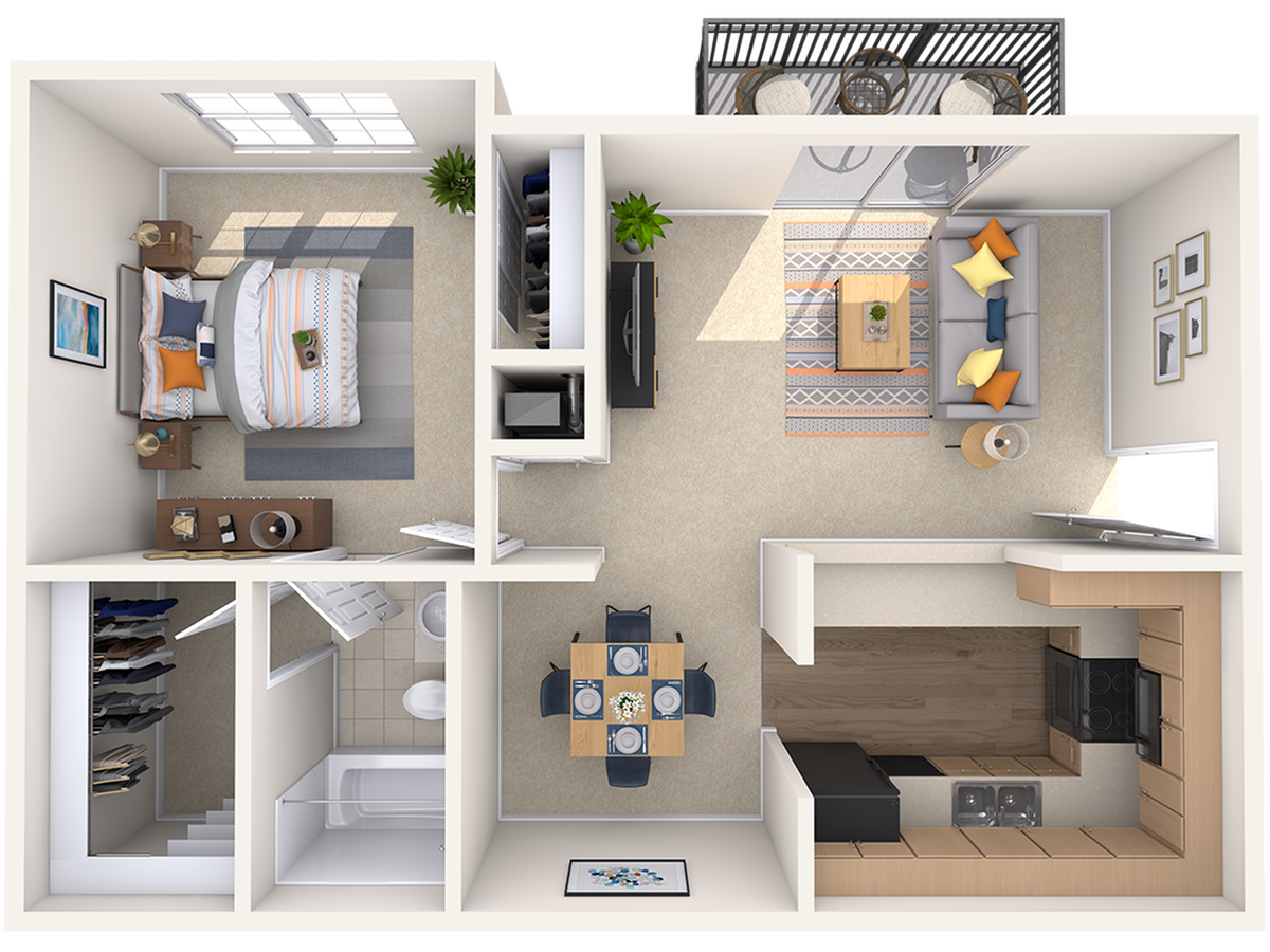 Floor Plan | Peachtree Place