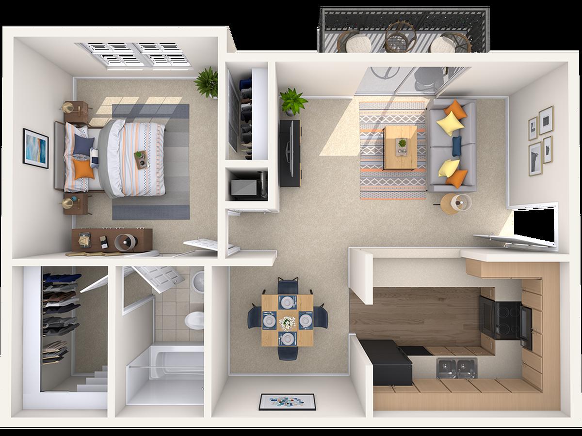 Floor Plan | Peachtree Place