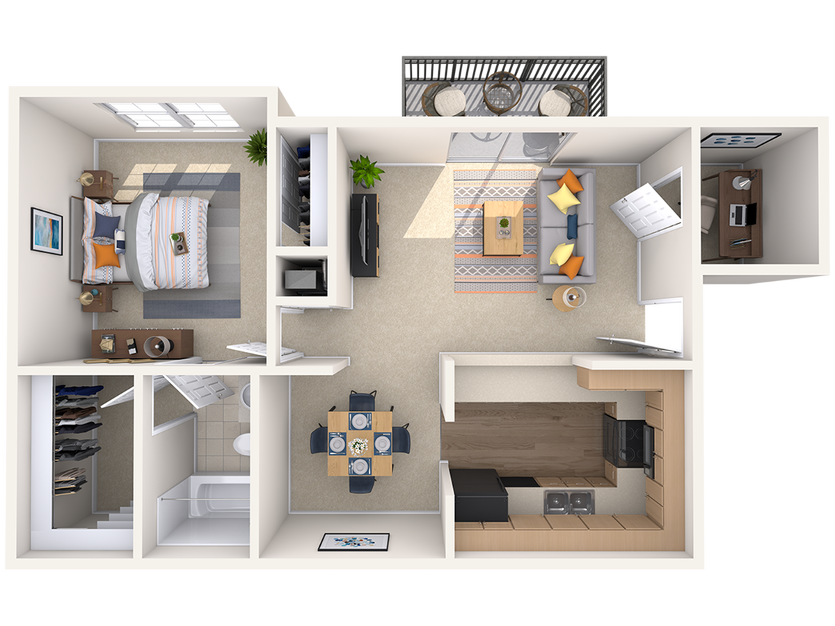 Floor Plan 1 | Peachtree Place