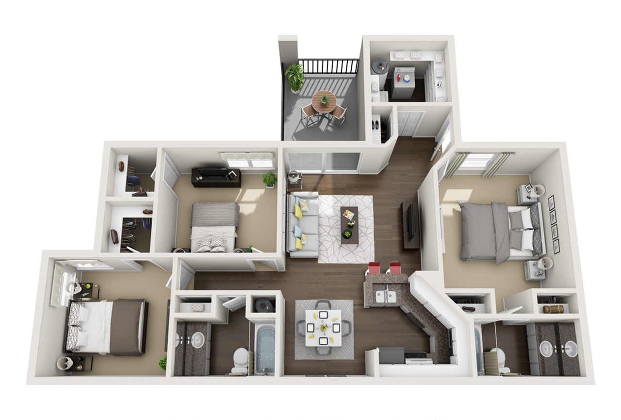 Floor Plan 2 | Laguna Place