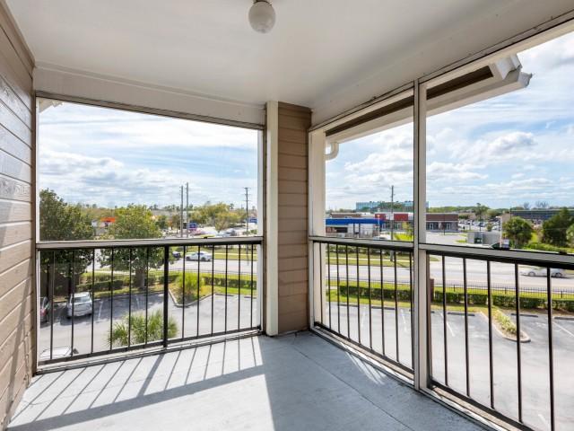 Spacious Apartment Balcony | Kissimmee FL Apartments For Rent | Laguna Place