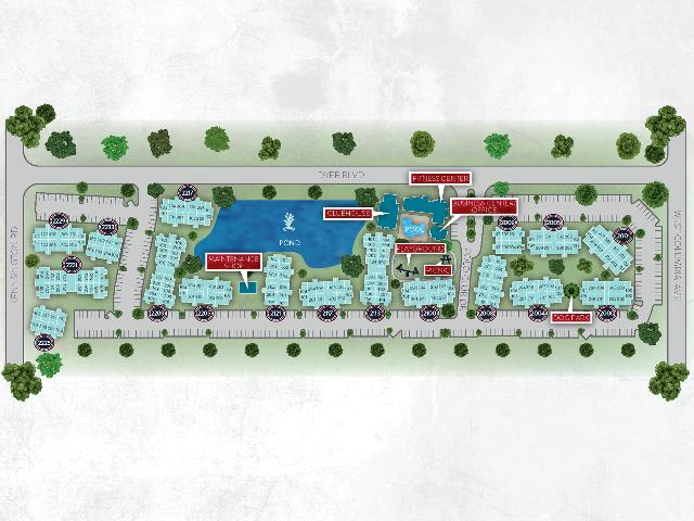 Laguna Place Site Map