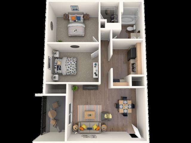 Cypress Floorplan