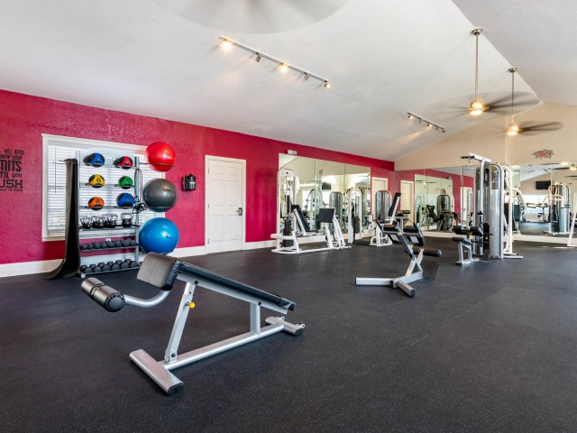 24-hour Fitness Center | Kissimmee FL Apartments | Laguna Place