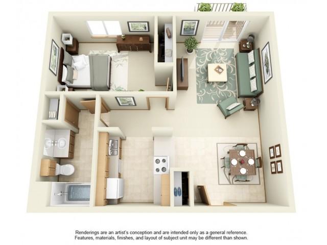 White Pines | 1 Bedroom