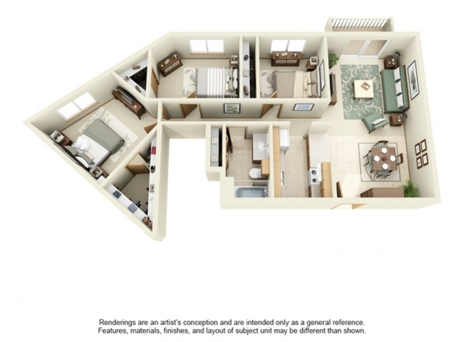 White  Pines | 3 Bedroom