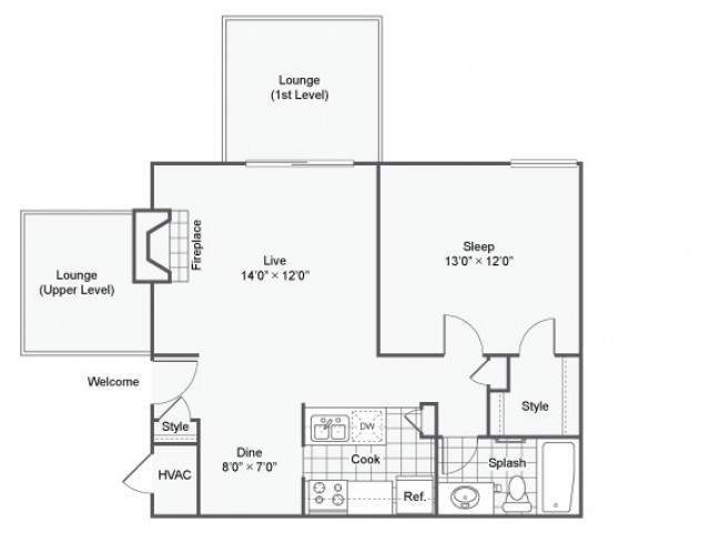 Hampton | Apartment in Maryland Heights | One Bedroom