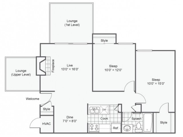 Oxford | Apartment in Maryland Heights | Two Bedroom