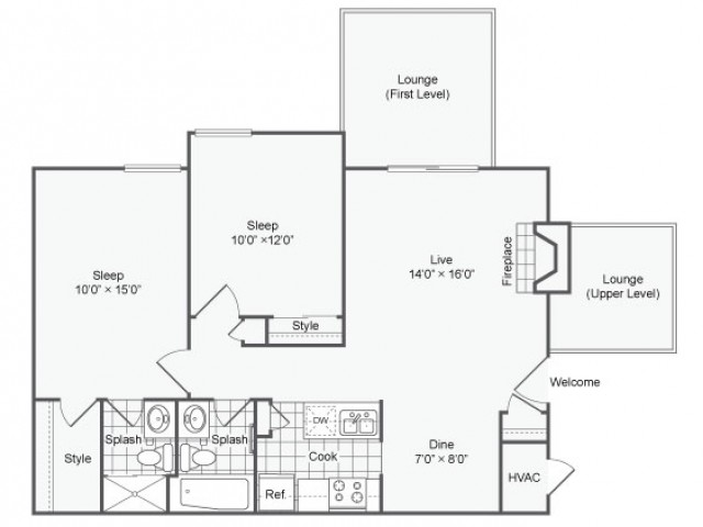 Stirling |  Apartment in Maryland Heights | Two Bedroom