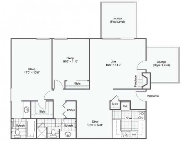 Balmoral |  Apartment in Maryland Heights | Two Bedroom
