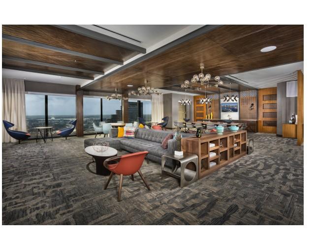 21st floor resident lounge