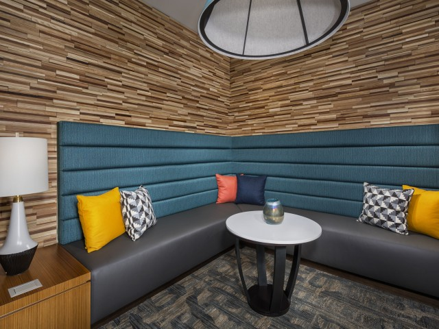 Perfect space for telecommuting or watching your favorite shows with friends