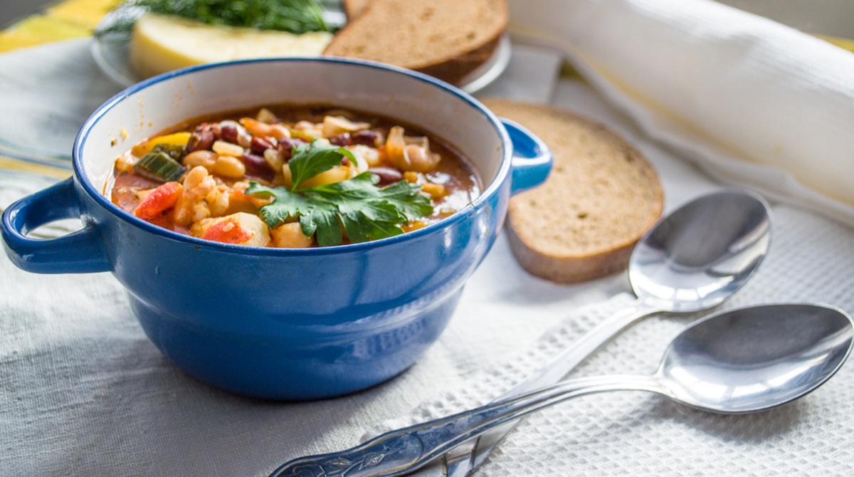 Cold Fighting, Immunity Building Soup-image