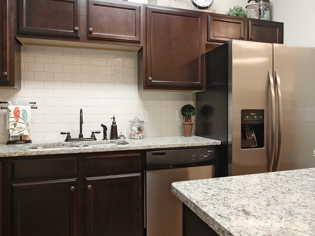 Image of Elegant Ceramic Tile Backsplash for Addison at Rossview