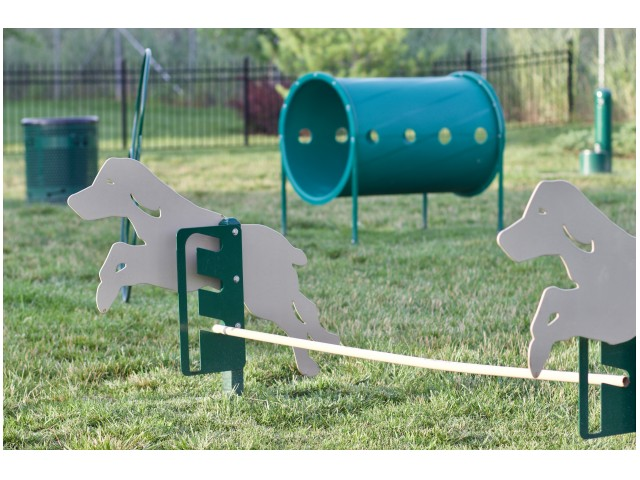 Image of 2 Bark Parks with Obstacle Course for Addison at Rossview