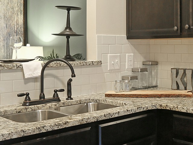 Image of Delta Peerless Collection Kitchen Faucets for Ashton Ridge at West Creek
