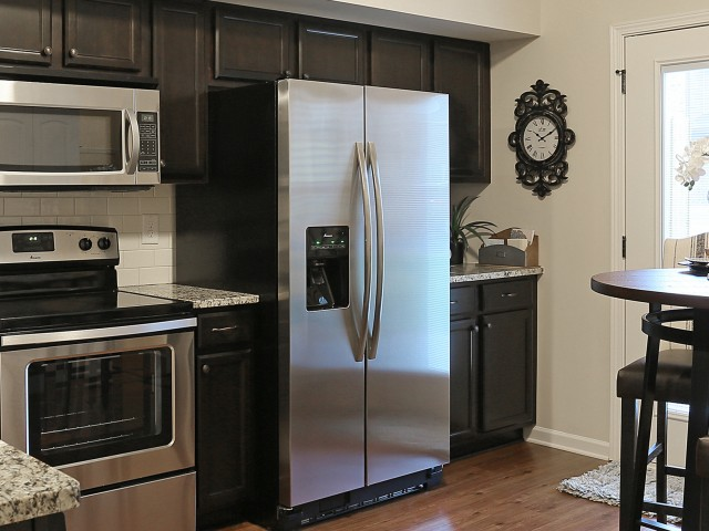 Image of Side by Side Refrigerators for Ashton Ridge at West Creek