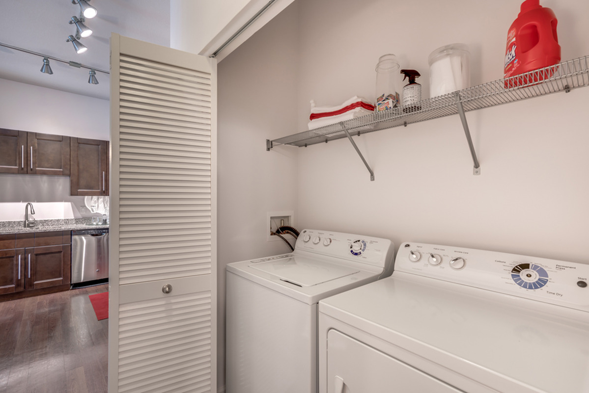 Image of Washer/Dryer Included for The Marq Highland Park