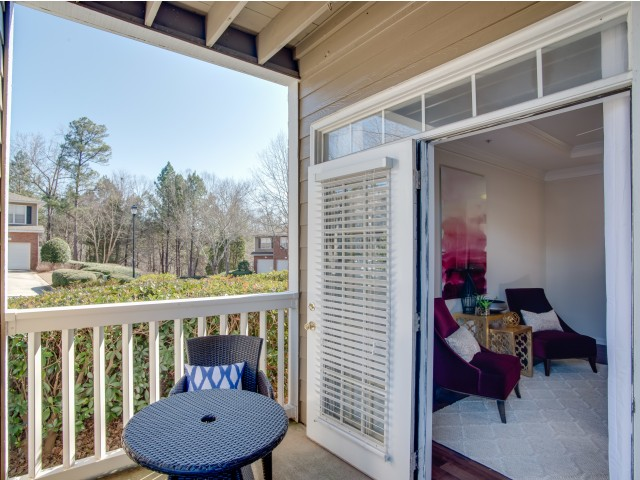 Image of Private Patios and Balconies* for Retreat at Peachtree City