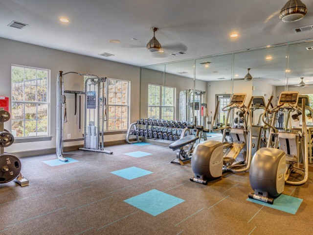 Image of Newly Remodeled Fitness Center for Summer Park