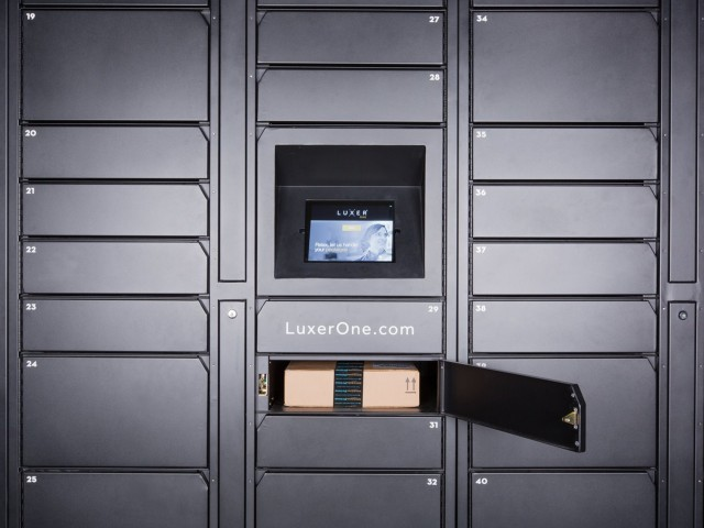 Image of Luxer One Package Lockers at Cottonwood Westside