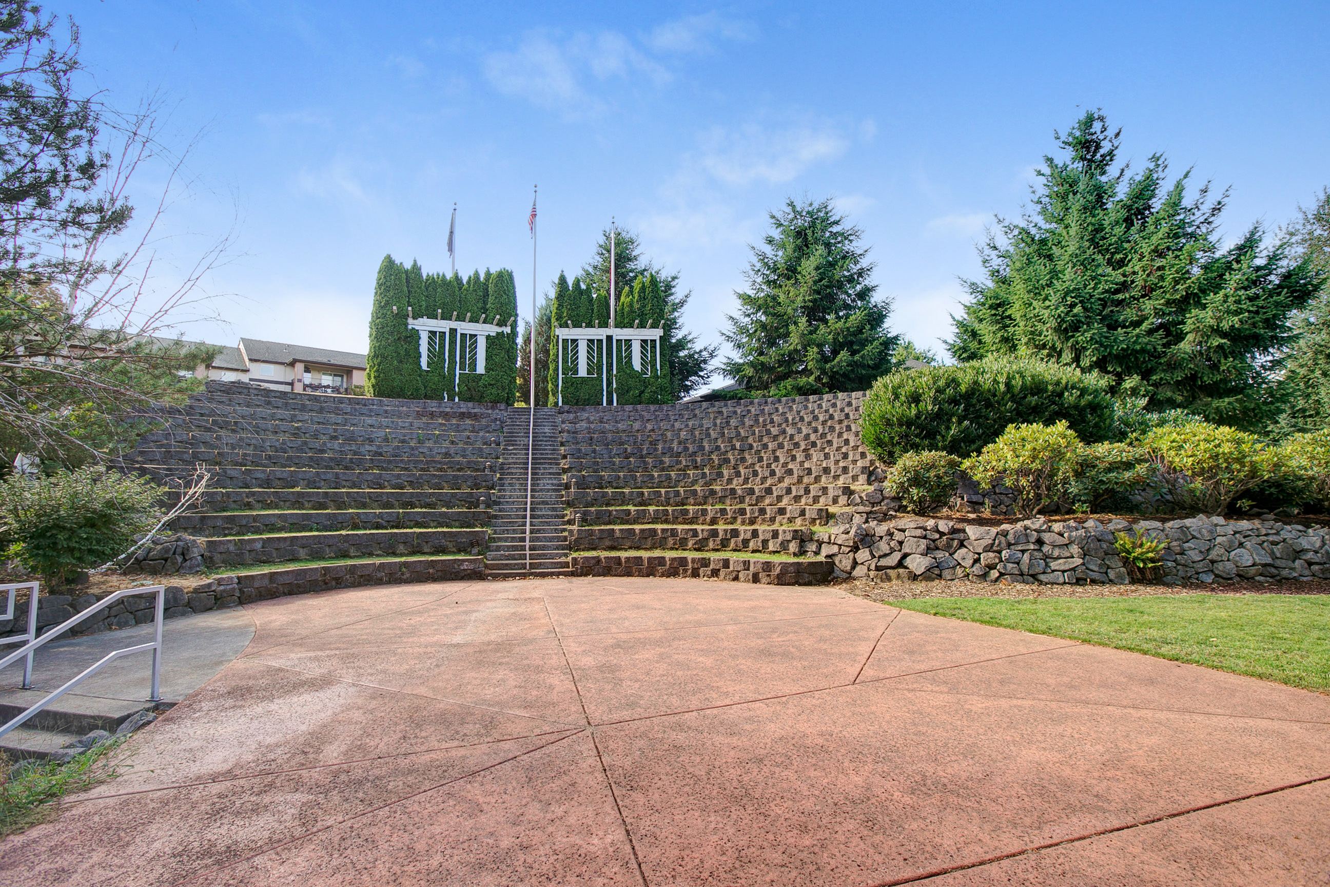 Image of One-of-a-Kind Amphitheatre for Scott Mountain