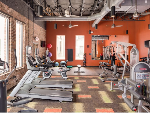 Image of 24-Hour Fitness Center for Melrose Apartments