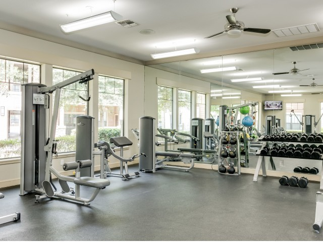Image of 24-Hour Fitness Club with Upgraded Equipment for Legacy Heights