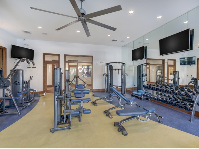 Image of 24-Hour Fitness Center including Fitness on Demand for The Marq Highland Park