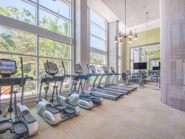 Two-Story 24-Hour Fitness Center
