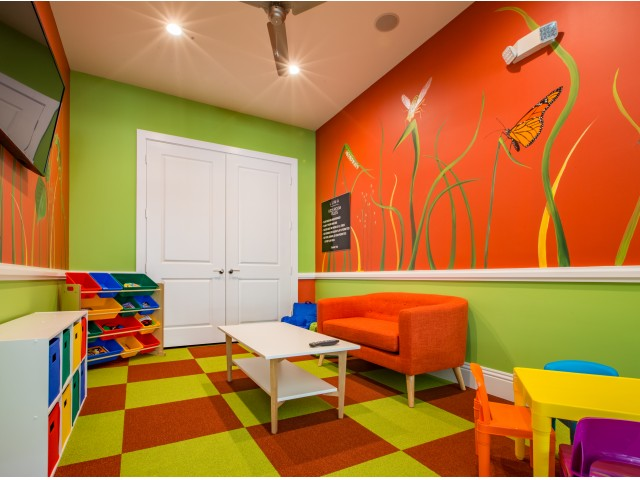 Image of Children's Activity Room for Cottonwood West Palm Apartments