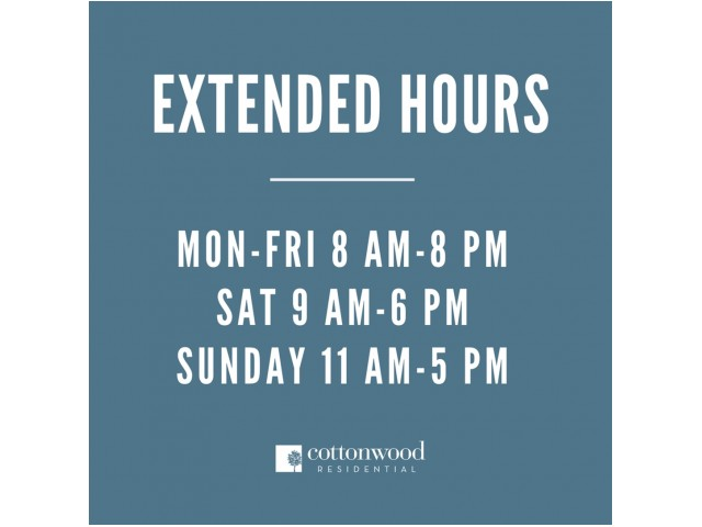 Enjoy Our Extended Office Hours, With More Hours To Serve Our Residents and Guests at The Marq Highland Park Apartments