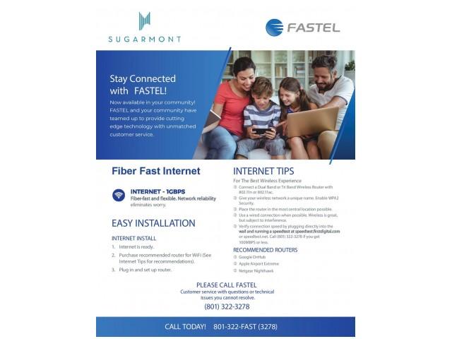 Fastel Internet Flyer