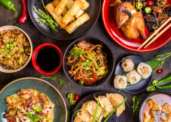 Spicy Girl's savory Asian food with a modern flair makes it truly one of a kind. Located just a 3 minute walk from 3800 Main, your favorite Chinese dishes are never far away for an evening out or ordering in. at Spicy Girl