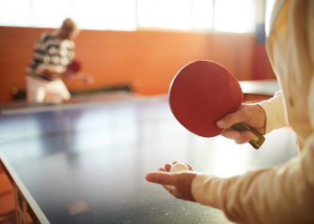 There's never a dull moment here with indoor and outdoor pools with waterslides for year-round swimming. What's more, patrons enjoy open play table tennis, a variety of fitness and dance classes, fitness areas, and hosting for private parties. at Tom Muehlenbeck Recreation Center