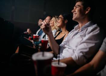 Enjoy a nigh out at the movies with an indoor or outdoor movie! Fun Movie Grill is Great for families, friends, and date nights! Grab some tasty concessions and kick back and relax while you watch your favorite movies! Be sure to keep an eye on their event calendar so you don't miss any of the fun! at Fun Movie Grill - Carrollton