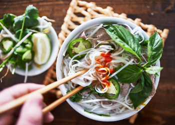 Don Cafe offers all your Vietnamese favorites ranging from savory pho to appetizing bhan mi. Sit down and enjoy the atmosphere knowing you're about to get something yummy soon. at Don Café