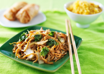 Golden Chopsticks has been going strong for the last 10 years! Guests praise the quick and friendly service and delicious dishes. Enjoy favorites from the noodle bar or tuck into a generous portion of chicken fried rice. at Golden Chopsticks