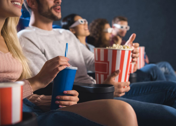 Strike and Reel is your movie theater go-to that has food, drinks, and entertainment! Boost your adrenaline with a bit of indoor rock climbing, bumper cars, or laser tag. at Strike and Reel