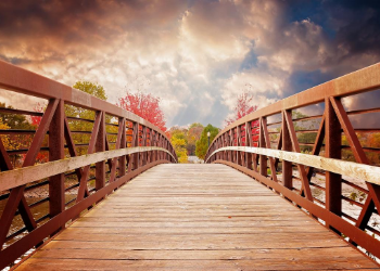 Explore Fox Creek Park by bike or foot with mixed use trails and open space for a quick game of football. Offering a playground, open air pavilion, and 70 foot long pedestrian bridge over the creek you'll find something for every member of the family. at Fox Creek Park