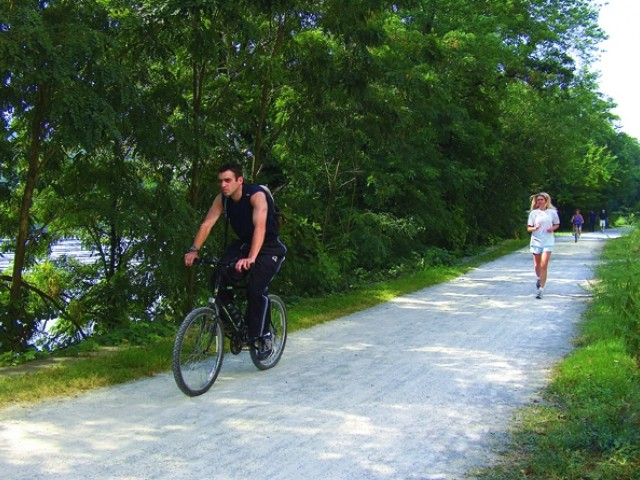 Image of Easy access to the riverside trail for walking, jogging, or biking for 950 NORTHSHORE