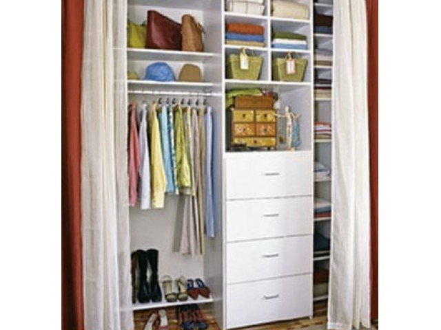 Image of Customizable Shelving - for a perfectly organized closet for 950 NORTHSHORE
