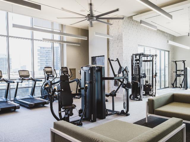 Modera Buckhead gym amenity image