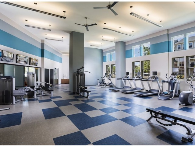 Image of Club-quality fitness studio with towel service for Modera Fairfax Ridge