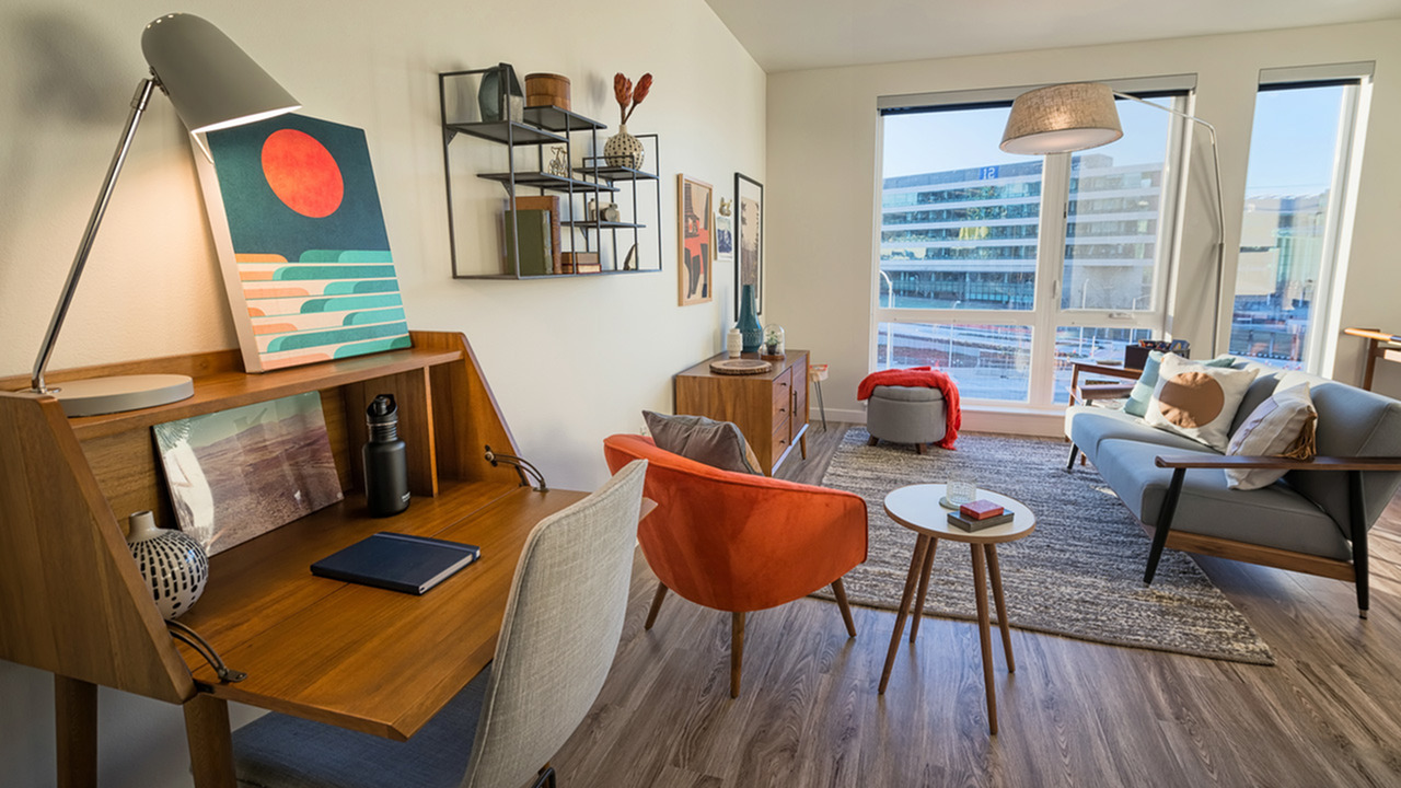 Image of Open, livable floor plans up to 1.200 square feet for Modera South Lake Union